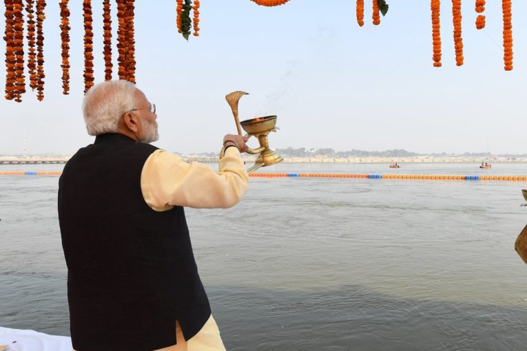 photo from PM narendra Modi's twitter page